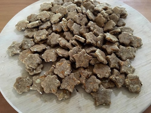 Vegan dog treats
