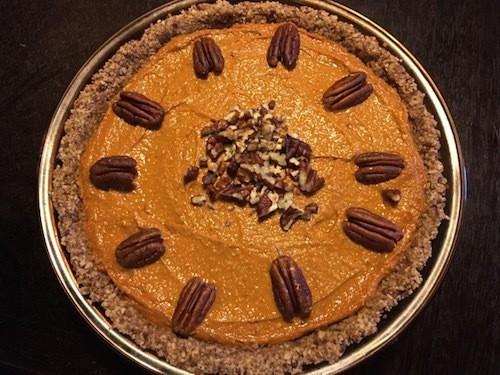 sweet potato pecan pie